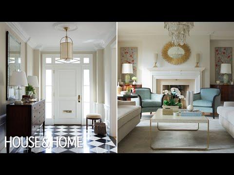 Interior Design U2013 A Traditional Living Room With 1930s Glamor   Home And Design  Ideas