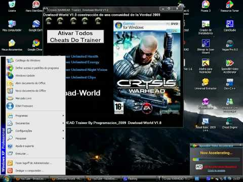 Crysis Warhead Trainer Cheat