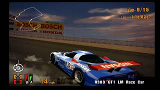 Gran Turismo 3 EPIC RACE! SO MANY R390 SPINS! GLITCHY TOYOTA! AND MORE! CHECK IT OUT!