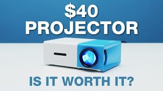 $40 Smartphone Projector   LOOTd Unboxing