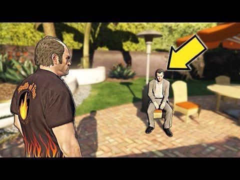 МОЖНО ЛИ ВСТРЕТИТЬ МАЙКЛА ДО ЕГО ПОЯВЛЕНИЯ В GTA 5 ?