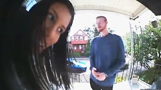 Dad Grills Daughter's Date Through Doorbell Camera