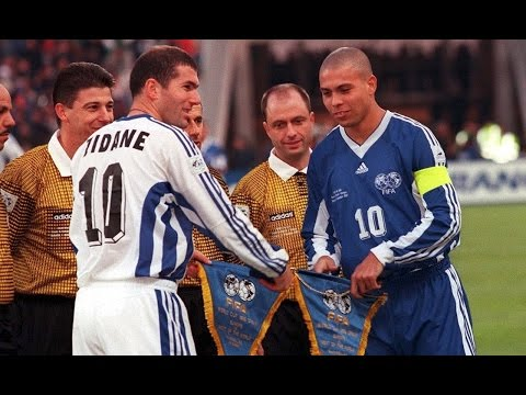 Ronaldo vs Zidane ( World All Stars vs Europe All Stars 1997 )