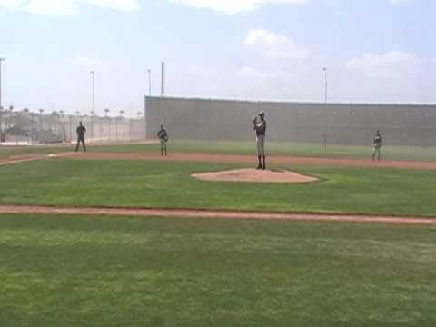 Spring Training 2009: Lonnie Chisenhall vs The Wind