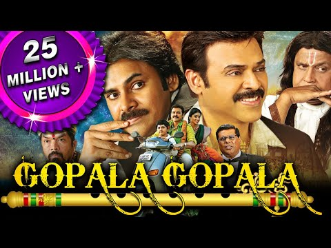 Gopala Gopala Hindi Dubbed Full Movie | Pawan Kalyan, Venkatesh, Shriya Saran, Mithun