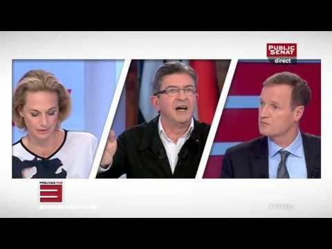 J.-L. Mélenchon invité à « Preuves par 3 » sur Public Sénat le 20/10/2015