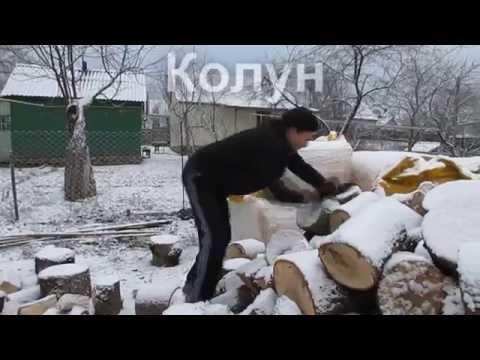 Колун для дров ютуб