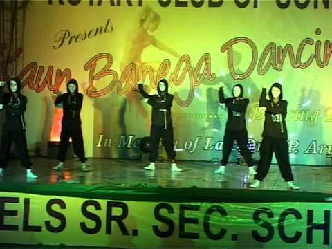 Dharmesh Sir 1st Group Dance ...anil Solanki video