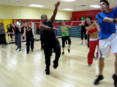Zumba instructor goes Boom Boom Pow for Blake TV