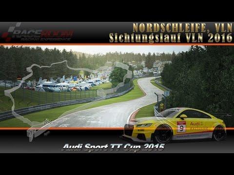 R3E - Nordschleife - VLN 2016, Audi Sport TT Cup 2015, Sichtungslauf #1
