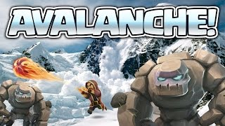 Clash of Clans: GOLEM AVALANCHE IS STRONGER?