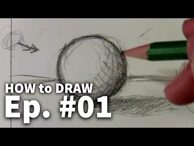 Learn To Draw 01 - Sketching Basics  Materials