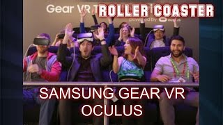 Samsung Gear VR 4D Oculus - Roller Coaster Virtual Reality