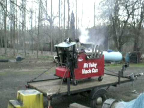 Spring Fling Engine Blow Contest Blowing Up A 454