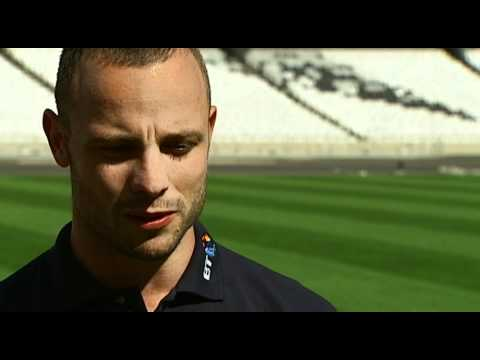 Oscar Pistorius interview
