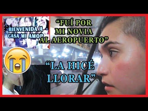 VOY POR MI NOVIA AL AEROPUERTO / MI PRIMER VIDEOBLOG/  INGRID GONZÁLEZ