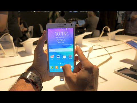 Samsung Galaxy Note 4 Hands On! (4K)