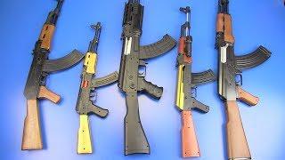 Guns Toys AK-47 Kalashnikov Toys for Kids ! Box of Toys