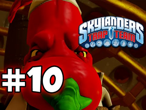 SKYLANDERS TRAP TEAM GAMEPLAY WALKTHROUGH - PART 10 -  PEPPER JACK!