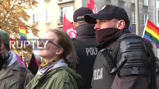 Antifa Butt Pirates Create Chaos At Polish Nationalist March of 150,000
