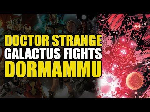 Doctor Strange: Galactus Fights Dormammu | Comics Explained