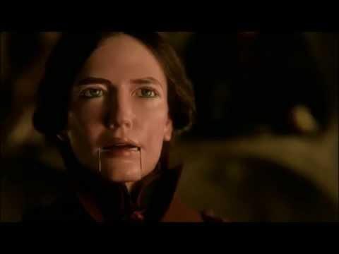 vanessa ives vs. lucifer in a crisscross of verbis diablo (season 2 finale scene)