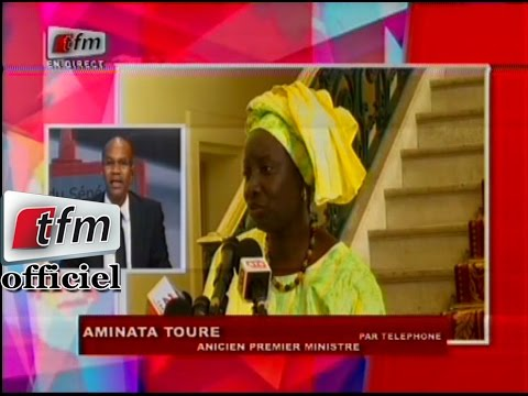 Réaction de Aminata Touré suite à la condamnation de Karim Wade - 23 Mars 2015
