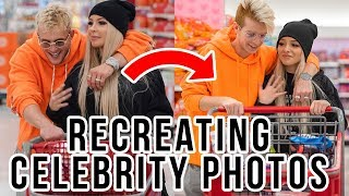 RECREATING FAMOUS CELEBRITY COUPLE PHOTOS! Cody Orlove FT. Zoe Laverne