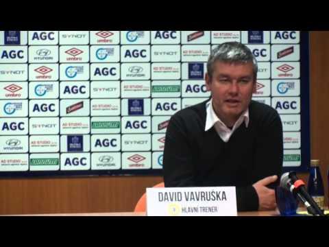 Tisková konference domácího trenéra po utkání s Jabloncem (22.11.2015)
