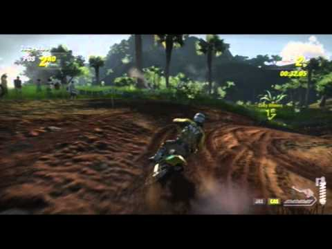 Mx vs Atv Alive - Menu - Racing - Actual Gameplay