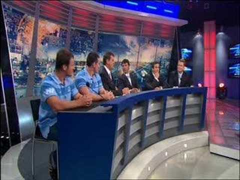 Paul Gallen & Brett Seymour on The Footy Show 20/03/2008