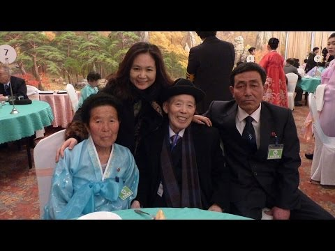 Emotional Reunions for Divided Korean Families