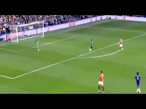 Luke Shaw great control 18-04-2015