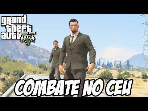 GTA V - Combate no Céu, CUIDADO COM A HÉLICE
