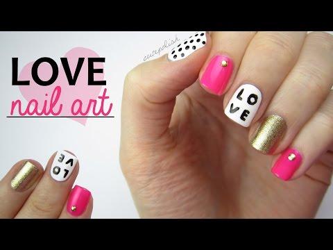 Nail Art for Valentine's Day-Valentin napi körmök