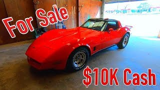 I'm Selling my 1980 C3 Corvette for $10K - Here's Why