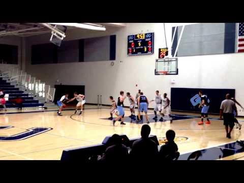 Drazen Frankovitch - Garrett College Mens Basketball - Nov 2013