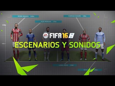FIFA 16 - Escenarios y sonidos