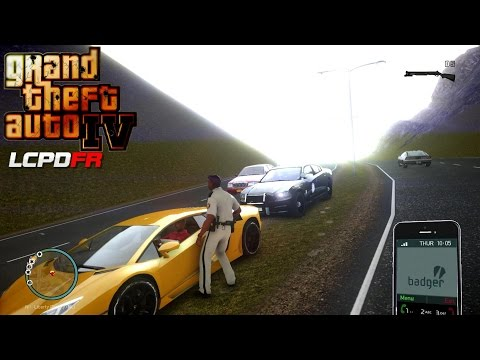 GRAND THEFT AUTO IV - LCPDFR 1.1 - EPiSODE 2 - FLORIDA HIGHWAY PATROL (FHP ) Countryside Mountains V