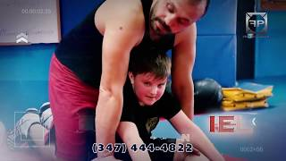 Alan and Daniel Grinberg at the Lions Martial arts GYM