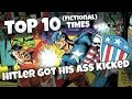 TINH: Top 10 Fictional Times Hitler Got His Ass Kicked