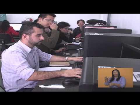 Formação e qualificação profissional de surdos - Jornal Futura - Canal Futura