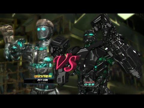 REAL STEEL ATOM VS ZEUS(ЖИВАЯ СТАЛЬ)XBOX 360/PS3