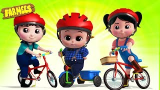 Let's Ride a Bicycle   Baby Music   Nursery Rhymes & Songs for Kids