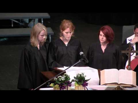Young Harris College Baccalaureate Service 2014