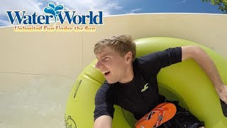 A Splashtastic day at Water World in Denver Colorado! | BrandonBlogs