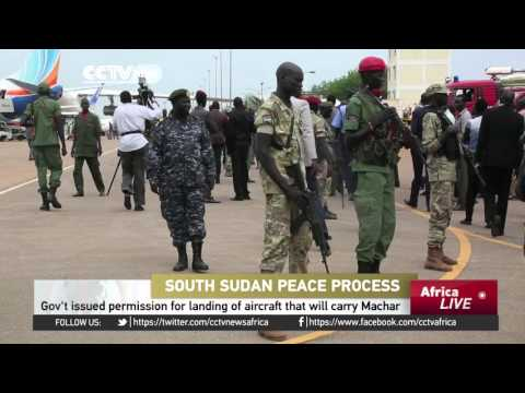 Machar's Chief of Staff arrives in Juba