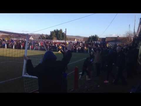 Auchinleck winning goal at Bonnyrigg