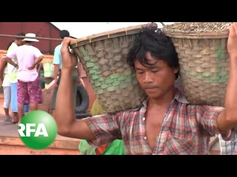 A Tough Haul for Myanmar's Gravel Carriers