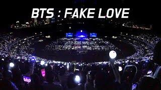 180622 BTS : FAKE LOVE 떼창 fanchant : WIDE FANCAM : LOTTE FAMILY CONCERT 2018 : 방탄소년단 防弾少年団